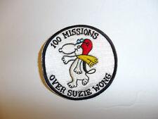0501 Vietnam US 100 Missions Over Suzie Wong Patch LBFM R8D