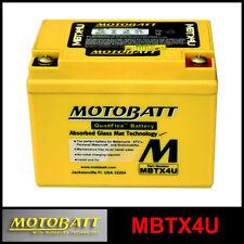 BATTERIE [MOTOBATT] MBTX4U = YB4LB / YTX4LBS (12 V 4,7 SCELLÉS EN ACTIVÉ