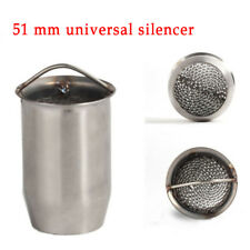 1X Motorcycle Exhaust Can DB Killer Silencer Muffler Baffle Motorbikes Removable