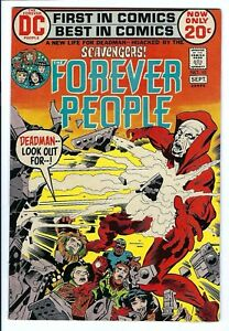 Forever People #10 VF-NM DC Bronze Age Kirby Art Deadman Appearance