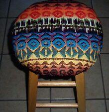 "13"" Bar Stool COVER - SOUTHWEST western aztec najaho"