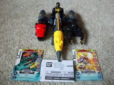 Power Rangers Megaforce Land Brothers Zord Vehicle and Black Ranger
