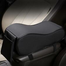 Black Car SUV PU Leather Armrest Box Mats Console Pad Liner Cushion Cover