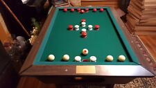 Jim Bunning Bumper pool table gift from Phillies teammates July 1971