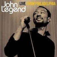 """JOHN LEGEND """"LIVE FROM PHILADELPHIA"""" CD+DVD NEU"""