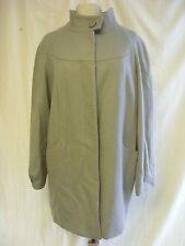 Ladies Coat - F&F, size 14, grey, 51% wool, stylish, some marks, used - 1687