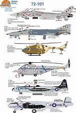 Wolfpak decals 72-101 DIAMANTI NEL CIELO TOMCAT PHANTOM LOCKHEED Elicottero