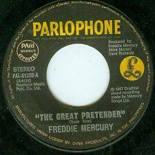 """Philippines Freddie Mercury Queen Great Pretender 45 7"""""""