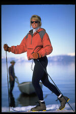 225093 CROSS COUNTRY SKIING Lake Tahoe USA A4 FOTO STAMPA