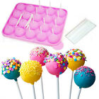 Silicone Cake Pop Set Baking Ice Tray Mold Party Cookware Pan Maker Non Stick