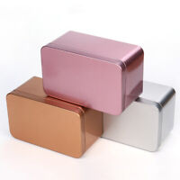 130*80*64mm Container Metal Tea Cans Small Storage Candy Tea Tin Tinplate Boxes