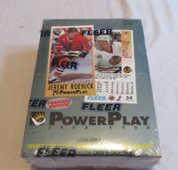 1993-94 Fleer PowerPlay NHL Series 1 Sealed Box Of Hockey Cards! 36 Packs!