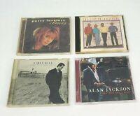 Lot of 4 Country Music CDs Alan Jackson Patty Loveless Vince Gill Statler Bros.