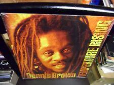 Dennis Brown Temperture Rising LP NEW vinyl