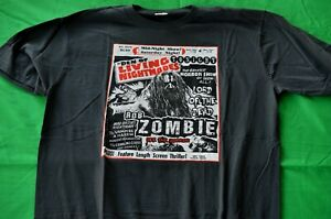 Rob Zombie- NEW Den Of Living Nightmares T Shirt- 2XLarge  FREE SHIP TO U.S.!