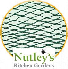 2m x 8m Bird Netting Green Woven Garden: Fruit Cages, Ponds: offcuts