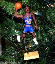 patrick EWING new york KNICKS basketball NBA xmas TREE ornament HOLIDAY jersey