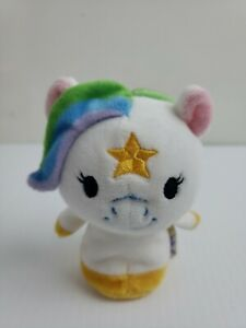 Hallmark ITTY BITTYS Little Pony White RAINBOW Starlight Plush  no tag b37