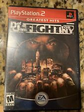 Def Jam Fight For NY - Sony PS2 Playstation 2 - CIB-TESTED - FAST SHIPPING