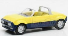 Peugeot 104 Peugette Pininfarina Spider 1976 Yellow Blue Matrix 1:43 MX31604-051