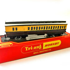 Triang Hornby OO Coach R333 GWR Brake 3rd Coach Clerestory Roof Vintage with Box