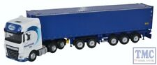 76DXF001 Oxford OO Gauge DAF XF Euro 6 CombiTrailer/Container Maritime Transport