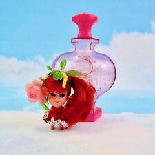 VTG 1960s Liddle Kiddle Kologne Rosebud Mattel Perfume Bottle doll rose red