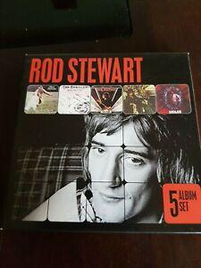 Rod Stewart-5 Album Set