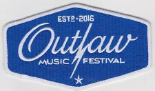 RaRe OUTLAW MUSIC FESTIVAL PATCH CONCERT WILLIE NELSON COUNTRY NEIL YOUNG TOUR