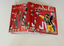 More details for arsenal home programmes complete 1996/97 (x24) (pl/fac/lc/uefa/friendly) - mint