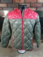 Eddie Bauer Womens EB 550 1936 Skyliner Model Goose Down Hooded Puffer Jacket