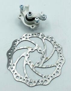 TEKTRO MTB Bike Front Disc Brake set 160mm Cycling 6 Bolts Bicycle Fit Shimano