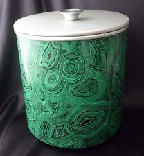 Vintage PIERO FORNASETTI Malachite Ice Bucket 1960s