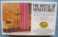 "House of Miniatures Kit Queen Anne Candle Stand No. 40013 1"":1' New Sealed"