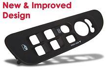 Dodge Ram Black Door Window Switch Bezel / Cover - New & Improved Design - Black