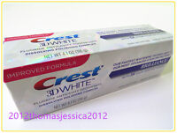 (IMPROVED FORMULA) CREST 3D WHITE BRILLIANCE TEETH WHITENING TOOTHPASTE 4.1oz