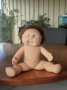 CPK All Body Plastic Brown Eyes & Hair Cabbage Patch Kids 1982