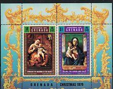 Grenada SC396a Souv.Sht.ChristmasPaintingsByBellini-Coreggio etc.MNH 1970