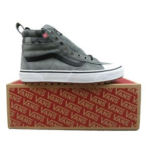 Vans Sk8-HI MTE 2.0 DX All Weather Sneakers Grey White NEW Mens Multi Size