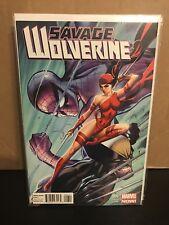 Savage Wolverine #6 J Scott Campbell Variant 1:50 Marvel Comics Rare