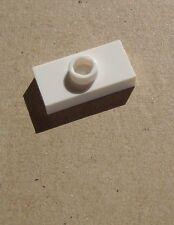 Lego 50x weiße Platte / Fliese mit einer Noppe 1 x 2 (3794) Neu weiss