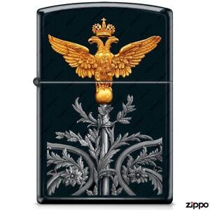 ZIPPO Lighter, 218 #1, Russian Coat Of Arms, Vintage, Original