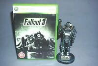 Fallout 3 Special Edition Brotherhood Of Steel Statue Figure + Game collectable