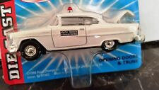 ROAD CHAMPS SOUTH DAKOTA POLICE 1/43 DIECAST SCALE 1955 CHEVY BEL-AIR VINTAGE