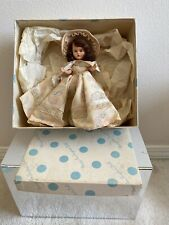 Vintage Nancy Ann Storybook Plastic Jointed Doll~March /Shower Girl for April ?