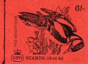 GREAT BRITAIN STAMPS MNH BOOKLET 6/-