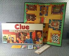 Vintage 1986 CLUE Classic Detective Parker Brothers Board Game NEW/UNSEALED