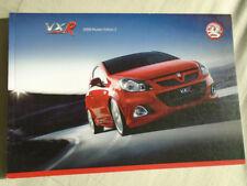 Vauxhall VXR range brochure 2008 models Ed 2