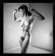 Bettie Page nude pinup 8x8 print 023