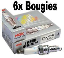 6 Bougies IZKR7B NGK VW TOUAREG (7LA, 7L6, 7L7) 3.2 V6 241 CH